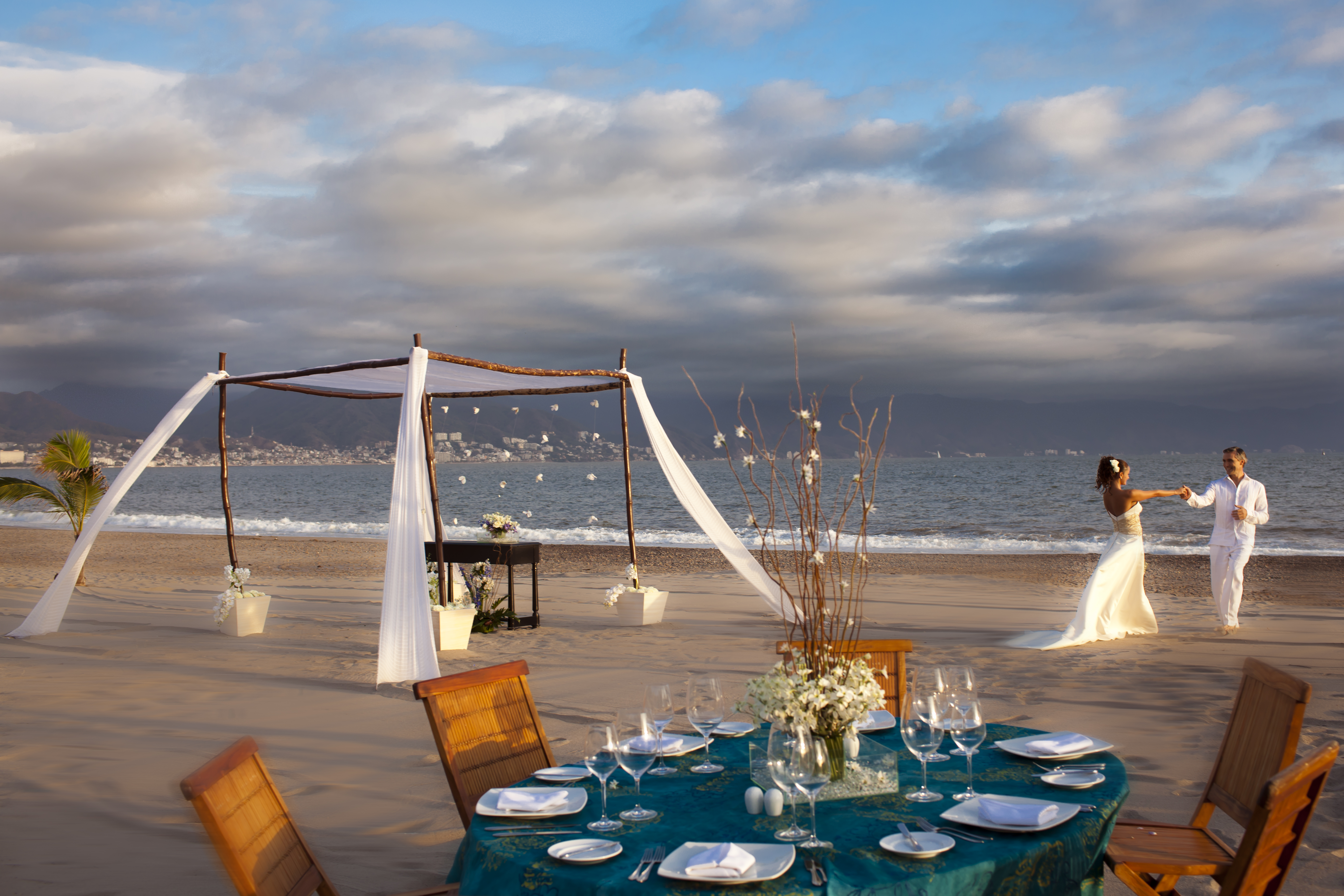 Boda Playa Montaje