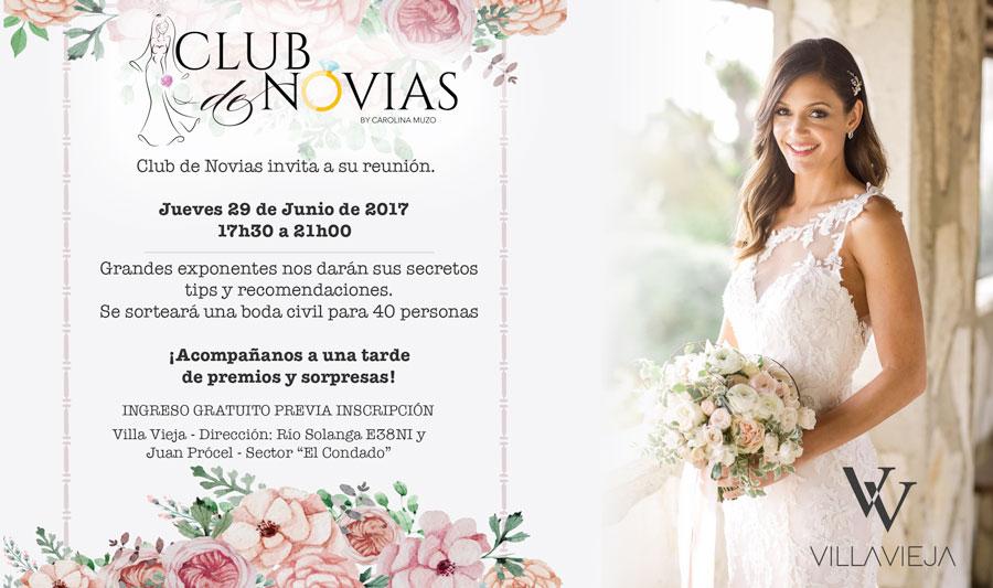 Invitación Club de Novias