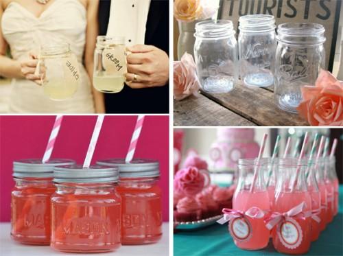 Bebidas-en-frascos-de-vidrio-para-bodas-en-2013-SassyStemware-RiverHouseDesigns-EllaJaneCrafts-y-Heidi-and-Julia-of-Our-Labor-of-Love-en-Ruffled-500x373