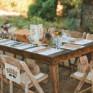 Tips de decoración para una boda rústica
