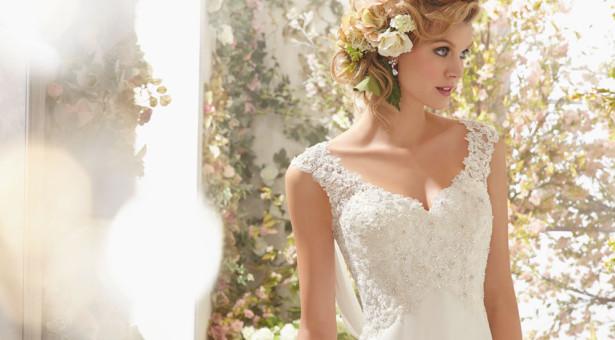 El vestido  de novia perfecto  para playa