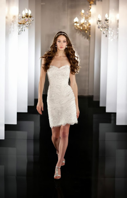 Vestidos de Novia Cortos (10)