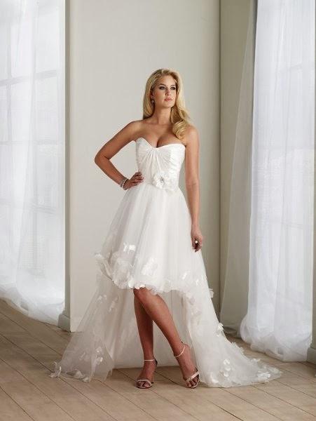Vestidos de Novia Cortos (17)