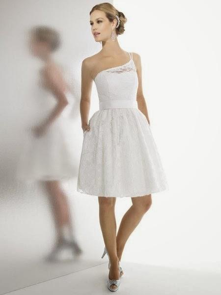 Vestidos de Novia Cortos (18)