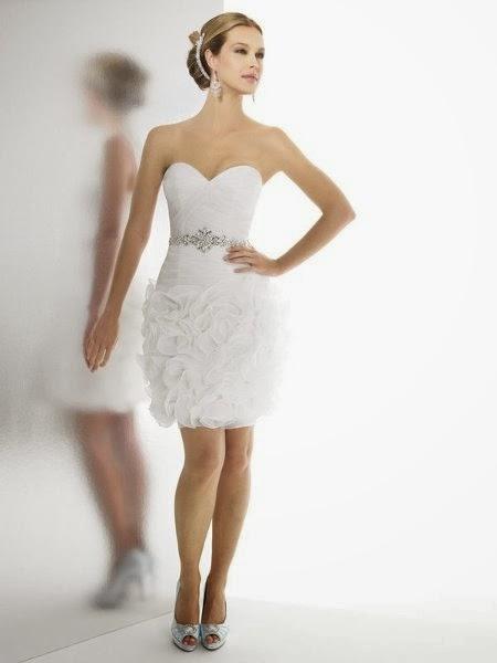 Vestidos de Novia Cortos (19)