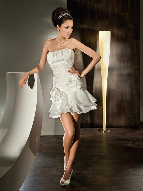 Vestidos de Novia Cortos (2)