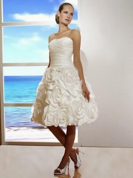 Vestidos de Novia Cortos (20)