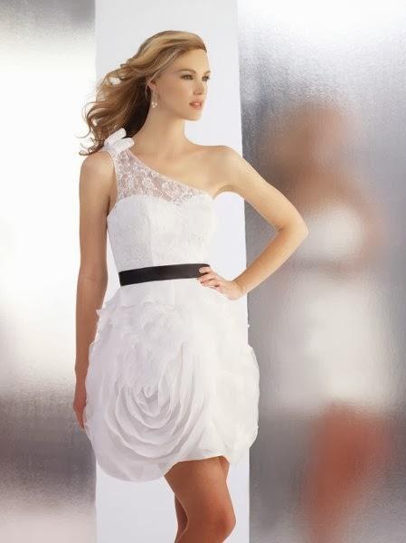 Vestidos de Novia Cortos (21)