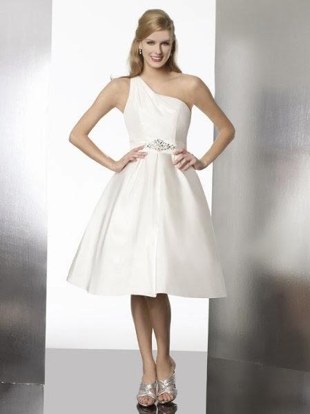 Vestidos de Novia Cortos (23)