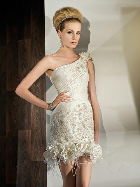 Vestidos de Novia Cortos (25)