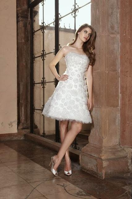 Vestidos de Novia Cortos (4)