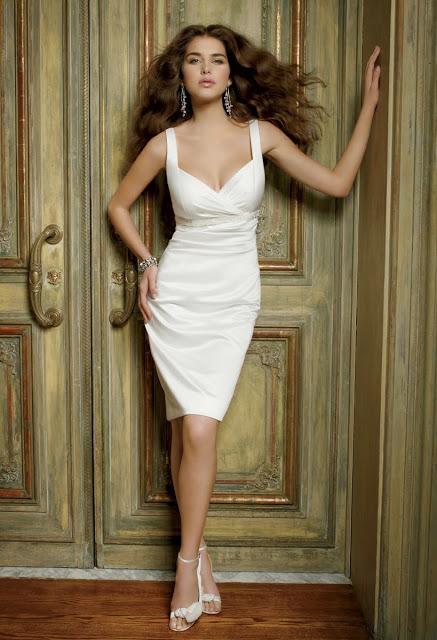 Vestidos de Novia Cortos (5)