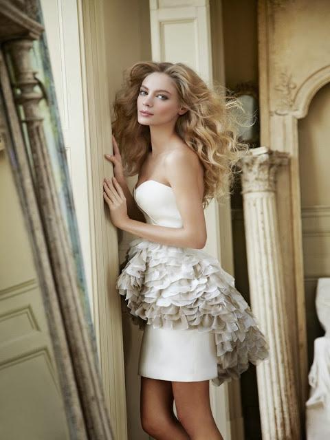 Vestidos de Novia Cortos (6)