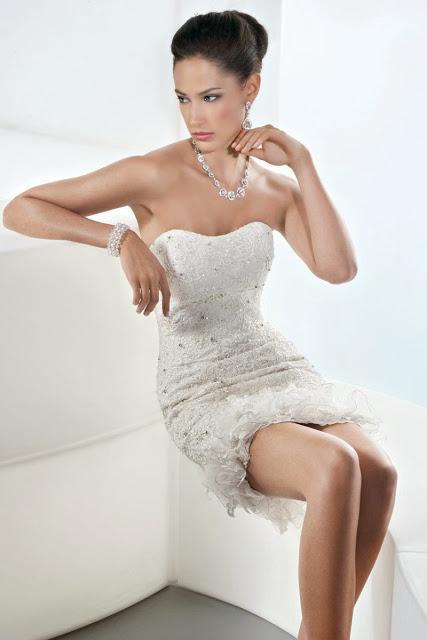 Vestidos de Novia Cortos (8)