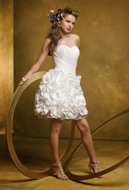 Vestidos de Novia Cortos (9)