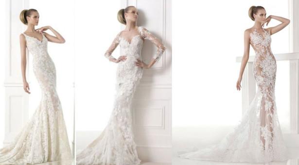 Los 15 vestidos de novia más sexys de 2015