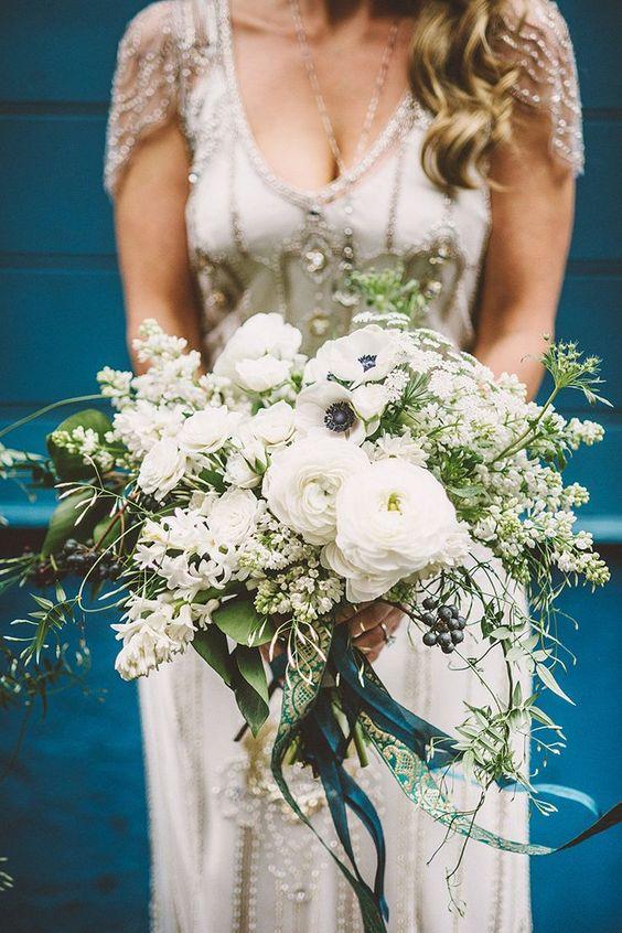 Bouquet-azul