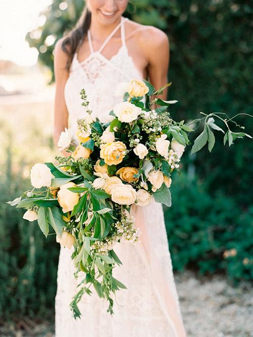Ramo-flores-naturales-amarillo