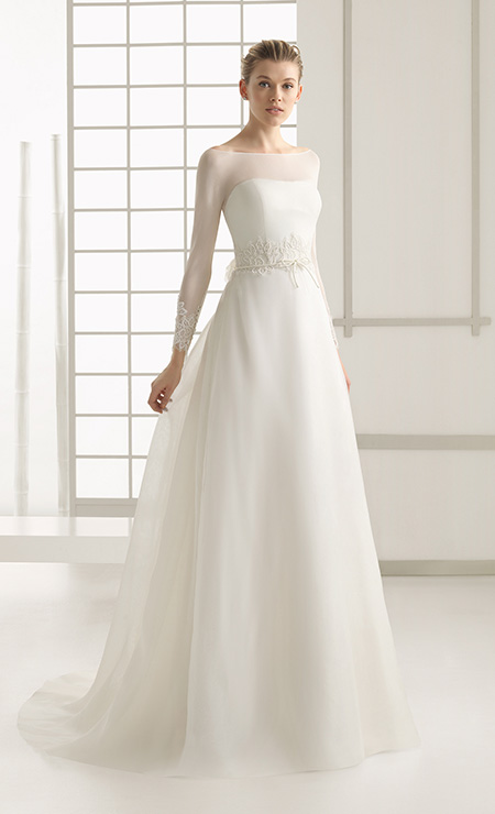 Vestido-de-novia-rosa-clara