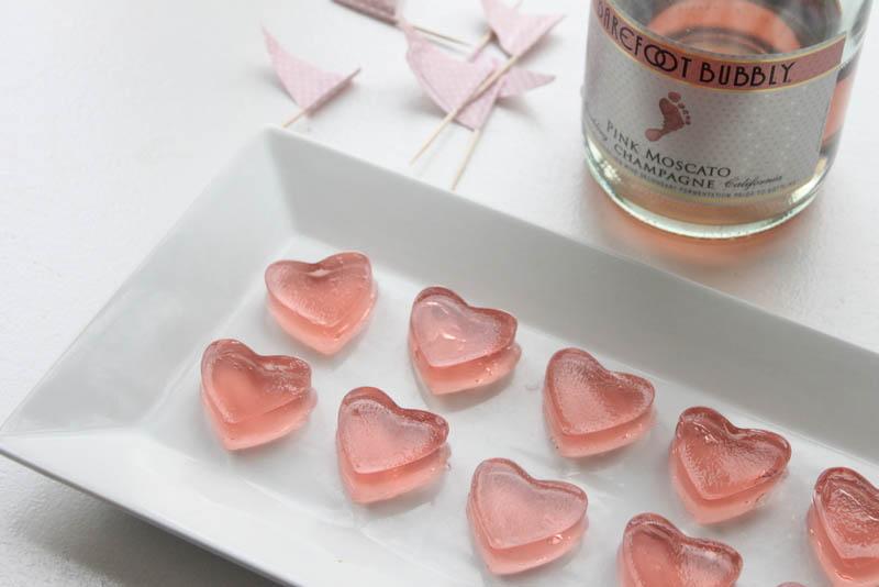 gelatina-champagne-shots