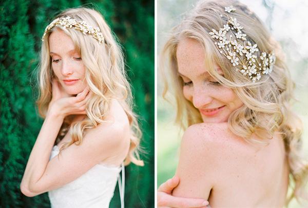 Imagenes de peinados de novia cabello suelto